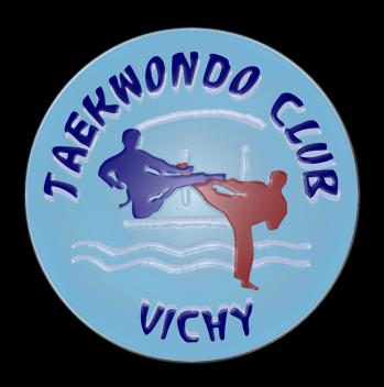 Logo tkd club vichy plast